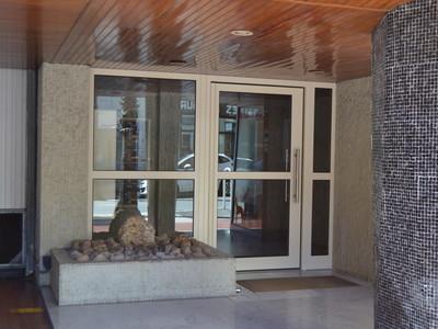 Porte d'entrée en acier pour habitat collectif