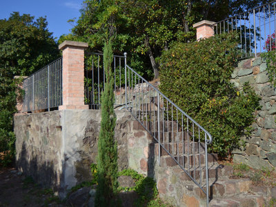 Rampe accès terrasse