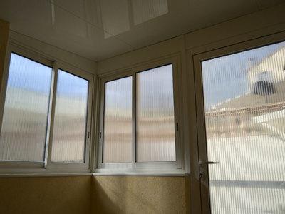 Fenêtre et porte en Alu avec toiture Thermotop