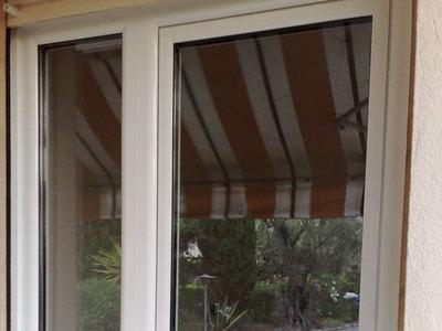 Ensemble porte et fenêtre
