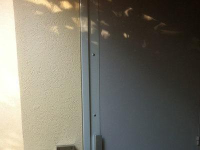 Protection et renfort de porte